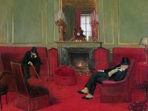 The Club, 1911 by Jean Béraud
