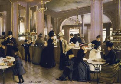 The Gloppe Pastry Shop by Jean Béraud