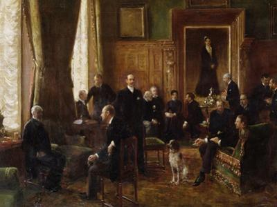 The Salon of the Countess Potocka, 1887 by Jean Béraud
