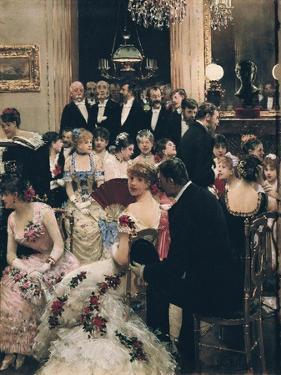 The Soiree by Jean Béraud