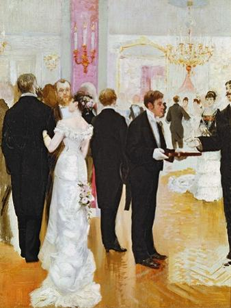 The Wedding Reception, c.1900 by Jean Béraud