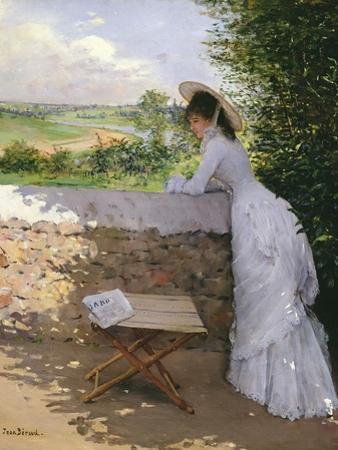 Un Figaro De Reve by Jean Béraud