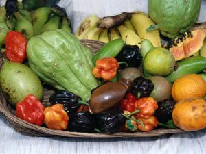 Display of Local Tropical Fruit, Martinique by Jean-Bernard Carillet