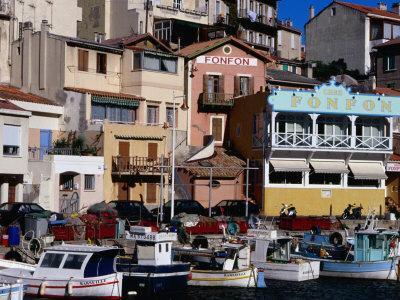 Harbour of Vallon Des Auffes, Marseille, France
