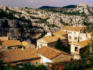 Hilltop Village in Les Alpilles, Les Baux De Provence, France by Jean-Bernard Carillet