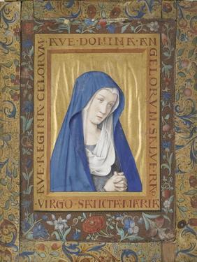 Vierge en prière by Jean Bourdichon