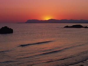 Agia Marina Beach at Dawn, Crete, Greek Islands, Greece, Europe by Jean Brooks
