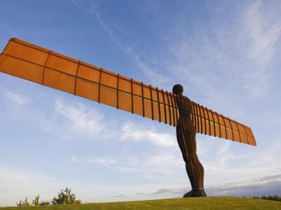 Angel of the North, Gateshead, Tyne and Wear, England, United Kingdom, Europe by Jean Brooks