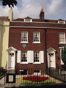 Birthplace of Charles Dickens, Portsmouth, Hampshire, England, United Kingdom, Europe by Jean Brooks