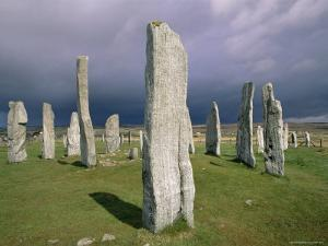 Callanish Standing Stones, Isle of Lewis, Outer Hebrides, Western Isles, Scotland by Jean Brooks