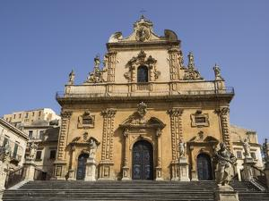 Cathedral of St Peter, UNESCO World Heritage Site, Modica, Sicily, Italy, Europe by Jean Brooks