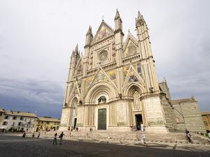 Cathedral, Orvieto, Umbria, Italy by Jean Brooks