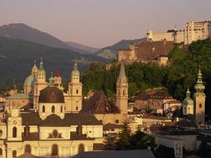 City Skyline, Salzburg, Austria, Europe by Jean Brooks