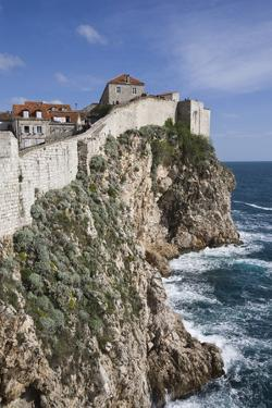 City Wall View, UNESCO World Heritage Site, Dubrovnik, Croatia, Europe by Jean Brooks