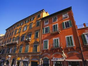 Colourful Buildings in Pisa, Tuscany, Italy by Jean Brooks