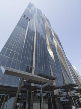 Dc Tower 1 by Dominique Perrault, Danube City, Vienna, Austria by Jean Brooks