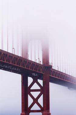 Golden Gate Bridge in the Mist, San Francisco, California, United States of America, North America by Jean Brooks