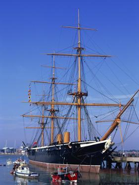 Hms Warrior, Portsmouth, Hampshire, England, United Kingdom, Europe by Jean Brooks