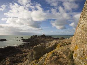 La Corbiere, St. Brelade, Jersey, Channel Islands, United Kingdom, Europe by Jean Brooks