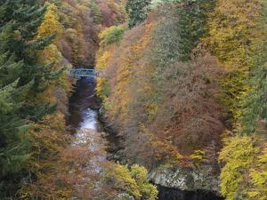 Pass of Killecrankie, Pitlochry, Perthshire, Scotland, United Kingdom, Europe by Jean Brooks