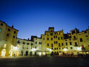 Piazza Anfiteatro, Lucca, Tuscany, Italy, Europe by Jean Brooks