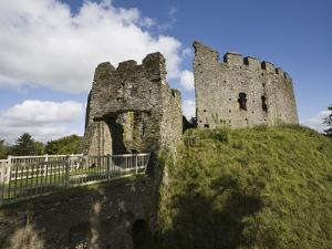 Restormel Castle, Cornwall, England, United Kingdom, Europe by Jean Brooks