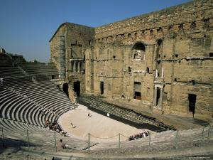 Roman Theatre (Theatre Antique), Orange, Unesco World Heritage Site, Vaucluse, Provence, France by Jean Brooks