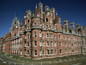 Royal Holloway College, Egham, Surrey, England, United Kingdom by Jean Brooks