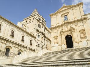 San Francesco Church, Noto, UNESCO World Heritage Site, Sicily, Italy, Europe by Jean Brooks