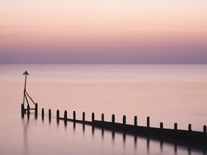 Selsey Bill at Sunset, Selsey, West Sussex, England, United Kingdom, Europe by Jean Brooks