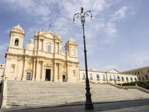 The Cathedral, UNESCO World Heritage Site, Noto, Sicily, Italy, Europe by Jean Brooks