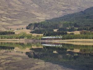 The Jacobite, Fort William to Mallaig Railway, Loch Eil, Lochaber, Scotland, United Kingdom, Europe by Jean Brooks
