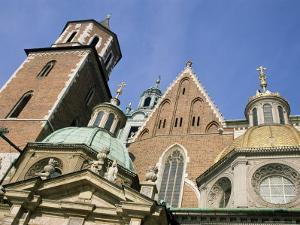 Wawel Cathedral, Krakow, Unesco World Heritage Site, Poland by Jean Brooks