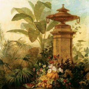 Still Life with Tropical Palms by Jean Capeinick