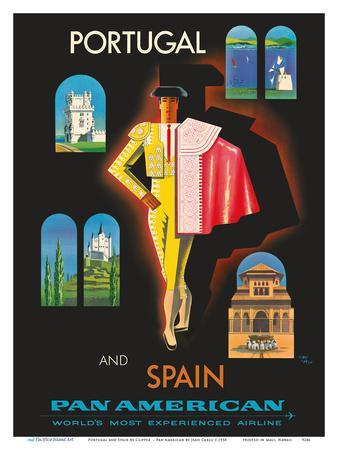 Portugal and Spain by Clipper - Matador - Pan American World Airways