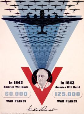 Victory, Franklin D. Roosevelt by Jean Carlu