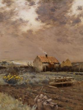 Landscape, C.1880 by Jean-Charles Cazin