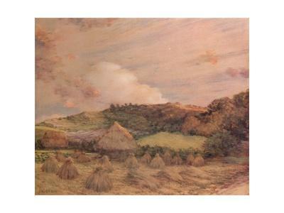 'Les Meules', c1885