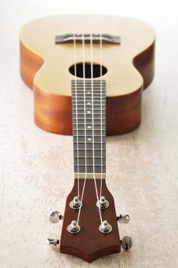 Close-Up of Guitar by Jean-Christophe Riou