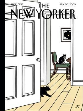 The New Yorker Cover - January 20, 2003 by Jean Claude Floc'h