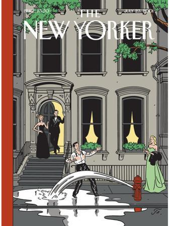 The New Yorker Cover - July 23, 2001