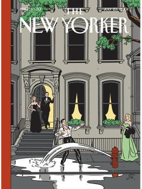 The New Yorker Cover - July 23, 2001 by Jean Claude Floc'h