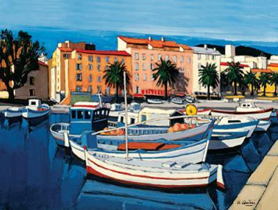 Barques de Pecheurs dans le Port d'Ajaccio by Jean Claude Quilici
