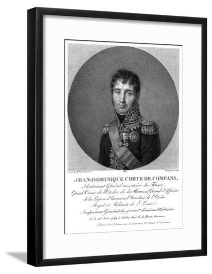 Jean Comte Compans--Framed Giclee Print