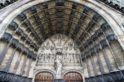 Entrance, Church of Notre-Dame-Au-Lac