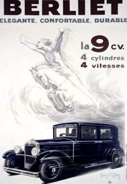 Auto Berliet, La 9CV by Jean D' Ylen