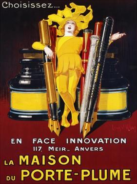 La Maison du Porte-Plume, 1924 by Jean D'Ylen
