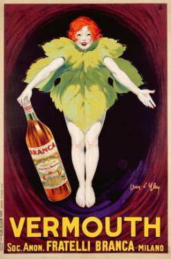 Poster Advertising 'Fratelli Branca' Vermouth, 1922 by Jean D'Ylen
