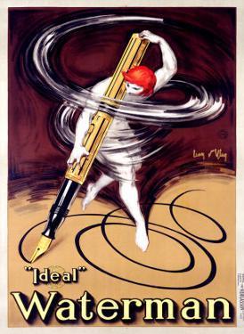 Waterman Ideal Fountain Pen by Jean D' Ylen