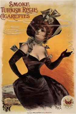Smoke Turkish Regie Cigarettes, 1895 by Jean de Paléologue